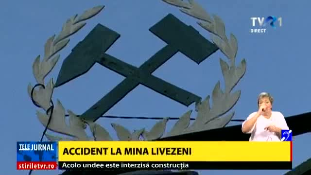 Accident la mina Livezeni