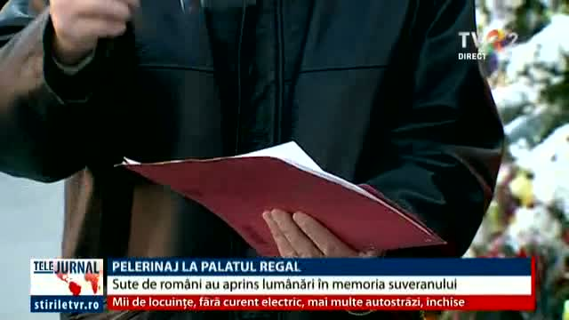 Pelerinaj la Palatul Regal din Capitală