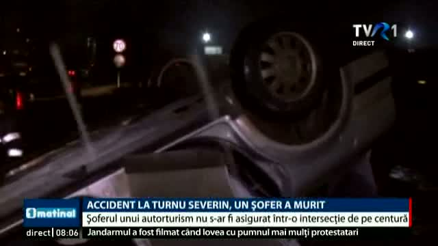 Accident la Drobeta Turnu Severin