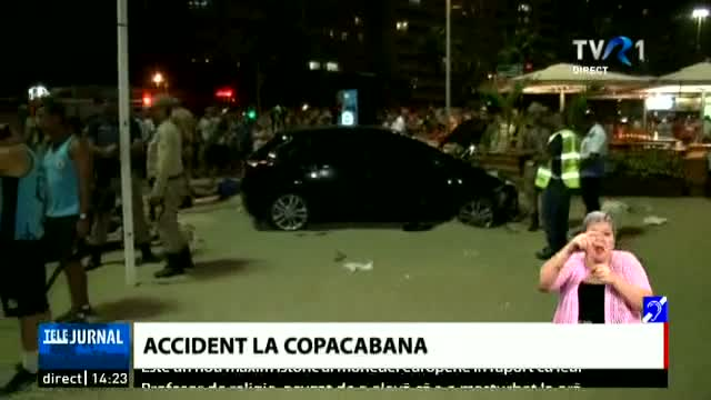 Accident pe Copacabana