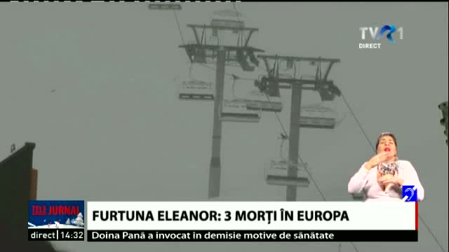 Furtuna Eleanor, 3 morti in Europa