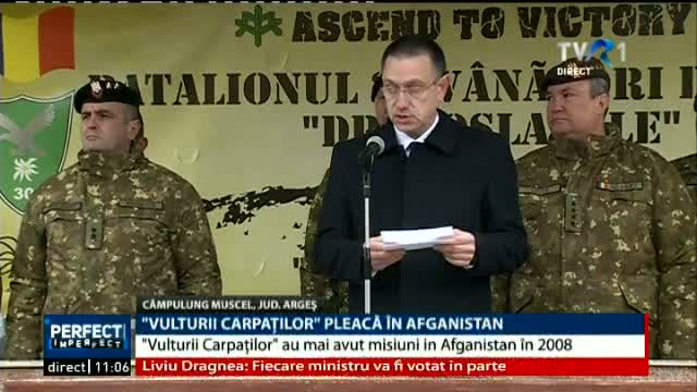Vulturii Carpatilor pleaca in Afganistan