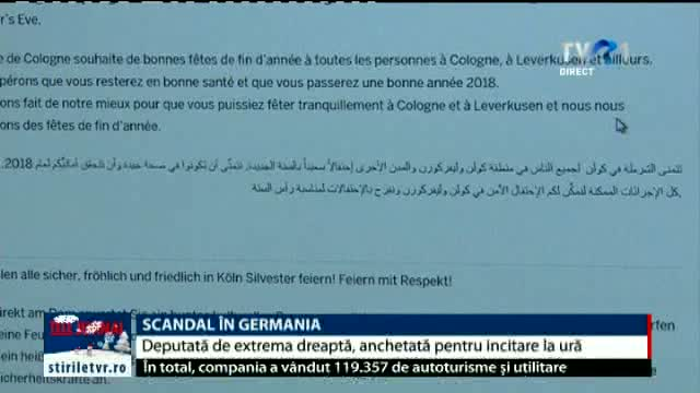 Scandal în Germania