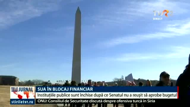 SUA, în blocaj financiar
