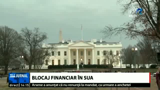Blocaj financiar în SUA