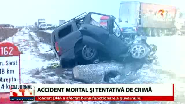 Accident mortal și tentativă de crimă
