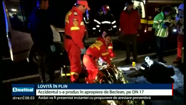 Accident la Bistrița Năsăud