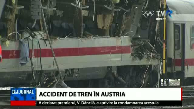 Accident feroviar în Austria