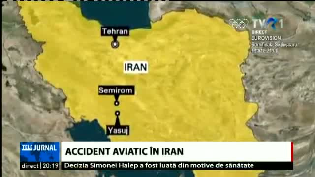 Accident aviatic în Iran