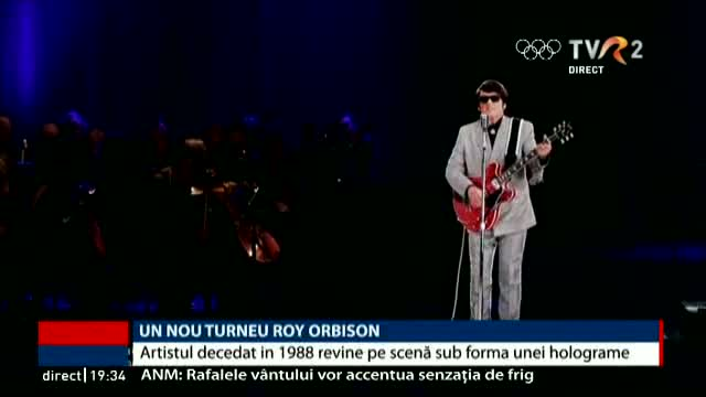 Un nou turneu Roy Orbison