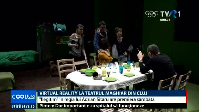 COOLTURA Virtual Reality la Teatrul Maghiar din Cluj