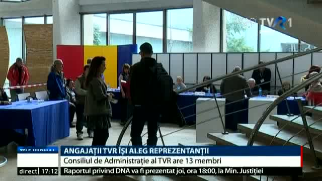 Angajații TVR își aleg reprezentanții în Consiliul de Administrație