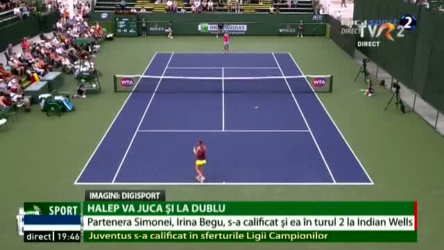Irina Begu, în turul doi la Indian Wells