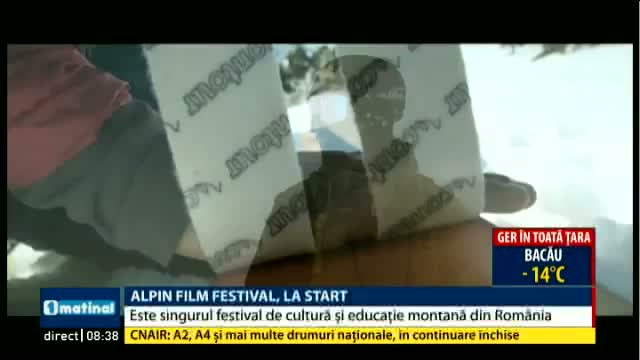 Alpin Film Festival, la start