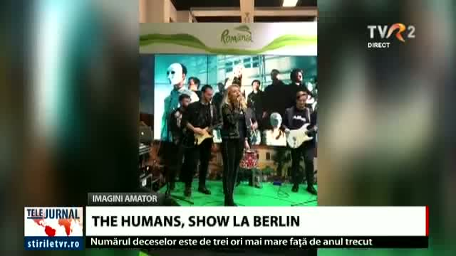 The Humans, show la Berlin