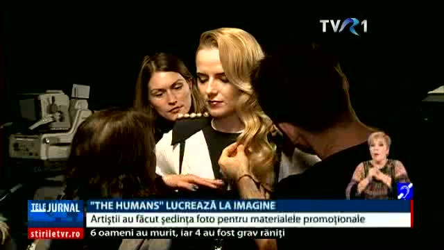 """The Humans"" lucrează la imagine"