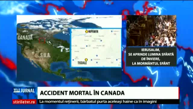 Accident mortal în Canada