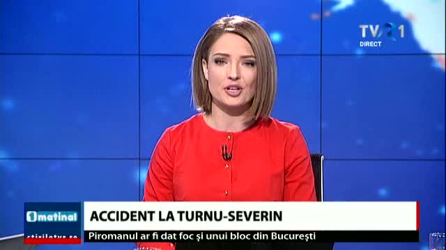 Accident la Turnu - Severin