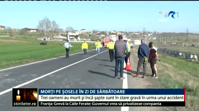 Accidente rutiere tragice, de Paște