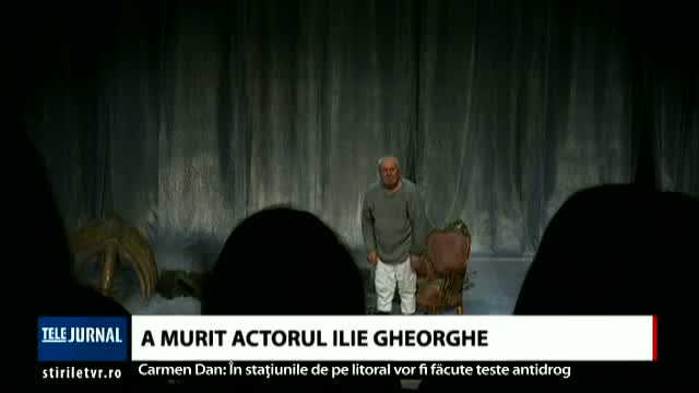 A murit actorul Ilie Gheorghe
