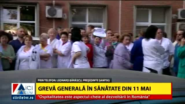 11 mai - grevă generală în Sănătate