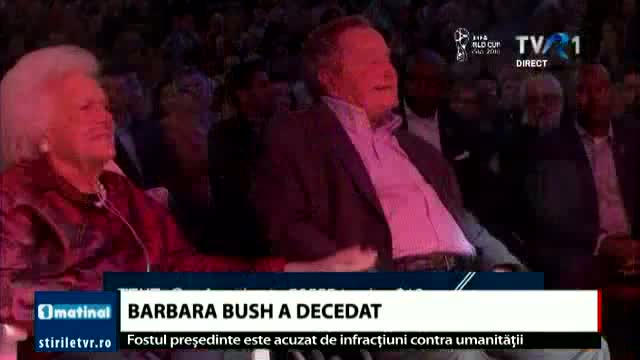 Barbara Bush a murit
