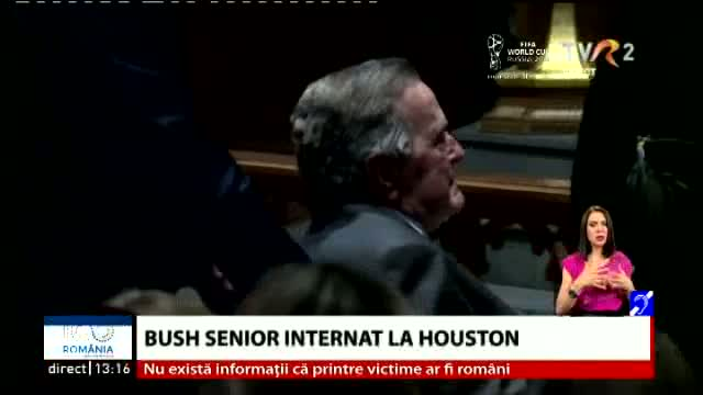 Bush senior, internat la Houston