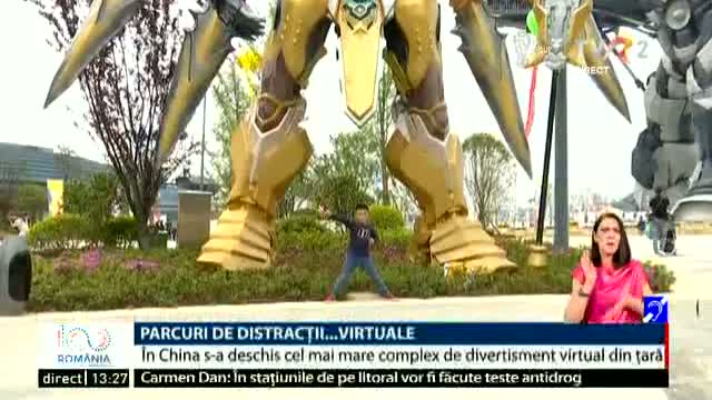 Parc de distracții virtuale în China