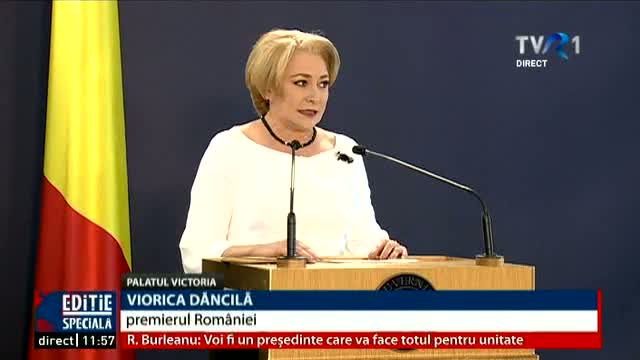 Declarații Viorica Dăcilă