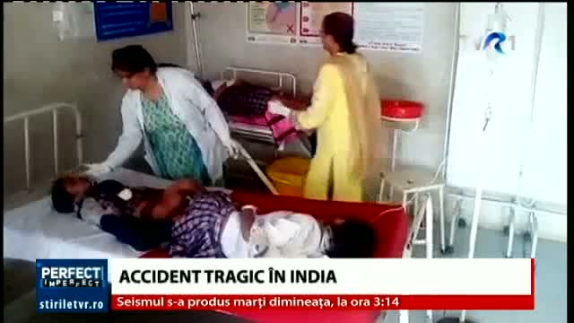Accident tragic în India