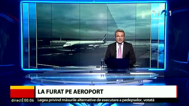 Incident pe Aeroportul Internațional Sibiu