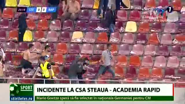 Incidente la CSA Steaua - Academia Rapid