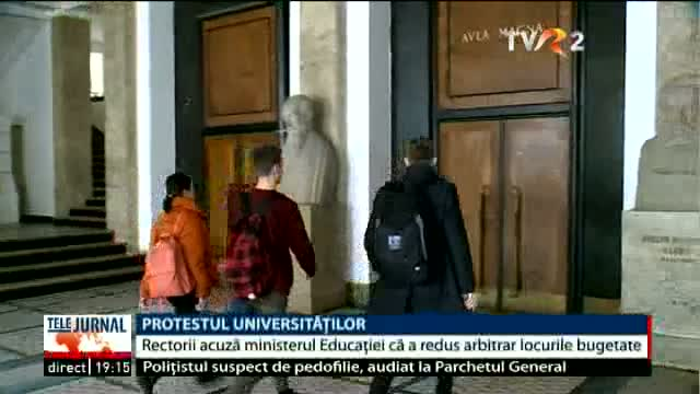 Protestul universităților