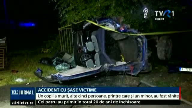 Accident produs de un șofer băut