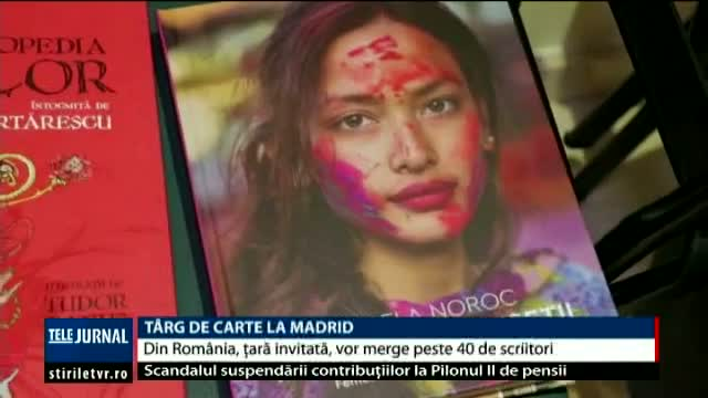 Târg de carte la Madrid