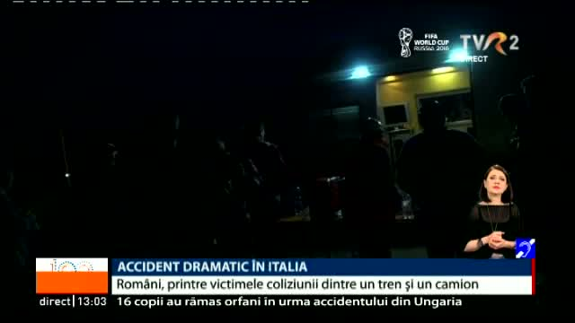 Accident dramatic în Italia
