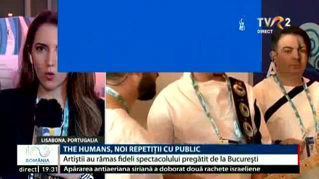 The Humans, noi repetiții cu public