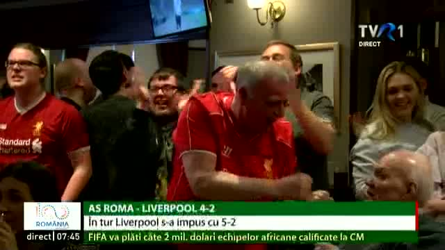 Liverpool, în finala Champions League