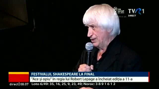 "Festivalul ""Shakespeare"", la final"