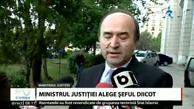 Toader alege seful DIICOT
