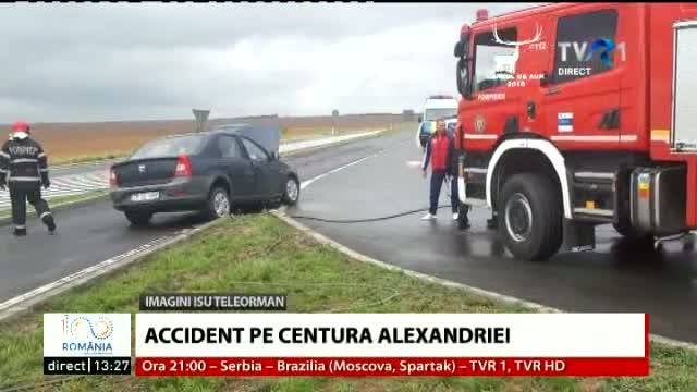 Accident pe centura Alexandrei