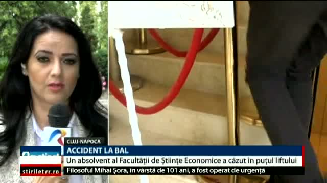 Accident la bal