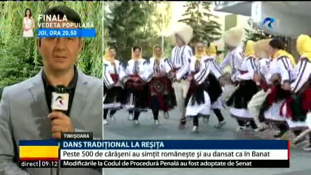 Dans traditional la Reșița