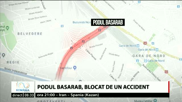 Accident in Bucuresti