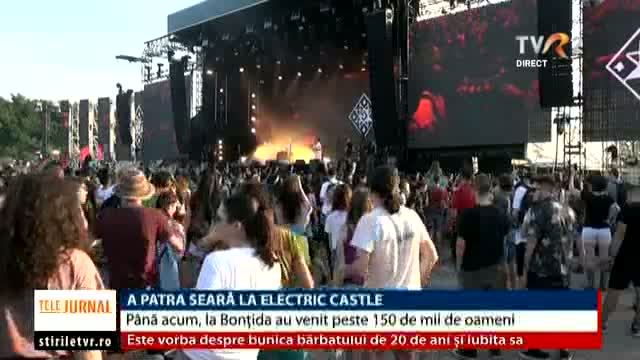 A patra seară la Electric Castle