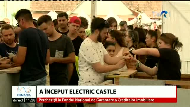 A inceput Electric Castle
