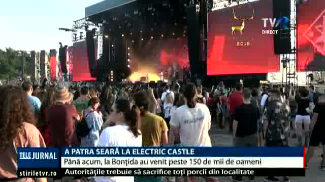 A patra seară de Electric Castle
