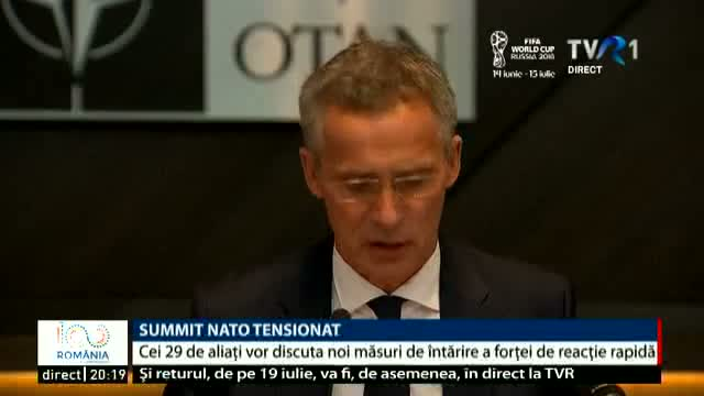 Summit NATO tensionat