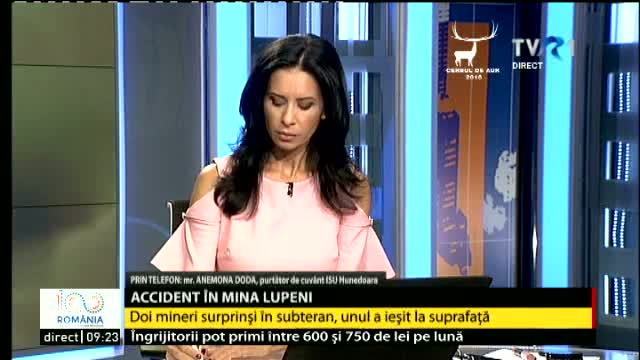 Accident în mina Lupeni