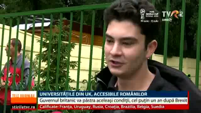 Universitățile din UK, accesibile studenților români
